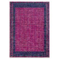 Style Statements by Surya Lansdale 5-Foot 3-Inch x 7-Foot 3-Inch Area Rug in Fuchsia