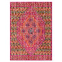 Style Statements by Surya Etum 5-Foot 3-Inch x 7-Foot 3-Inch Area Rug in Pink