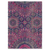 Style Statements by Surya Halwood 7-Foot 10-Inch x 10-Foot 3-Inch Area Rug in Fuchsia
