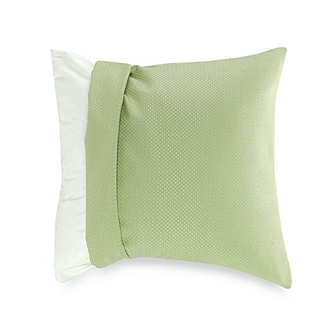 make your own pillow apple green nubby pillow cover bed bath beyond. Black Bedroom Furniture Sets. Home Design Ideas