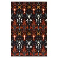 Surya Sonya Medallion 5-Foot x 8-Foot Area Rug in Dark Brown