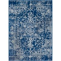 Style Statements by Surya Trafalgar 2-Foot x 3-Foot Accent Rug in Blue