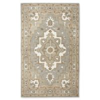 Rizzy Home Caterine Sheffield 5-Foot x 5-Foot Area Rug in Grey