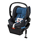 Cybex Platinum Cloud Q Plus Infant Car Seat with Load Leg Base in True Blue Denim