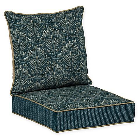 Bombay Royal Zanzibar Snap Dry 46 5 Inch X 24 Inch Outdoor Deep Seat Cushio