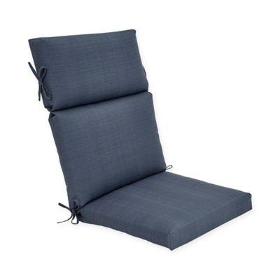 Forsyth Outdoor High Back Cushion In Denim