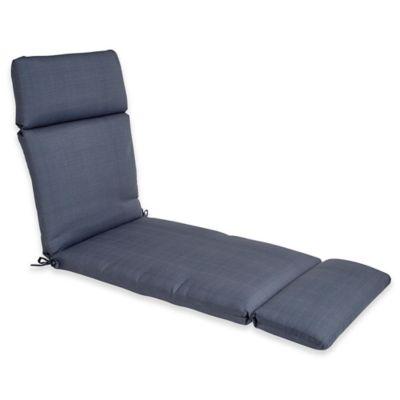 forsyth outdoor chaise in denim