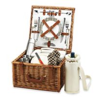 Picnic at Ascot Cheshire Picnic Basket For 2 with Blanket and Coffee Service in London