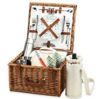 Picnic at Ascot Cheshire Picnic Basket For 2 with Blanket and Coffee Service in Ascot