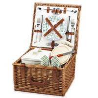 Picnic at Ascot Cheshire Picnic Basket For 2 in Gazebo