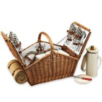 Picnic At Ascot Huntsman Basket for 4 with Blanket in London