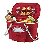 Picnic at Ascot Insulated Picnic Basket in Red