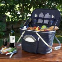 Picnic at Ascot Insulated Picnic Basket in Navy