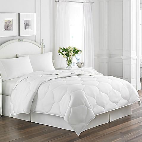 Laura Ashley 174 Trellis Quilted Down Alternative Comforter
