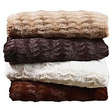 Embossed Faux Mink Blanket