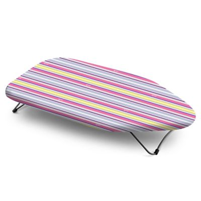 Bonita™ Multi Stripes Mini Tabletop Ironing Board