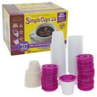 Simple Cups 2.0 50-Pack of Filters and Cups
