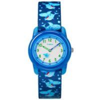 Timex® Time Machines Children's 28mm Shark Watch in Blue