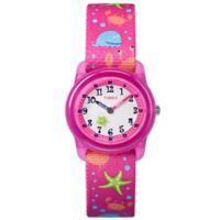 Timex® Time Machines Children's 28mm Shark Watch in Pink