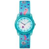 Timex® Time Machines Children's 28mm Mermaid Watch in Teal