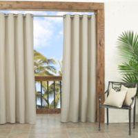 Parasol Key Largo 108-Inch Grommet Top Window Curtain Panel in Oatmeal