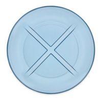 Kosta Boda Bruk Salad Plate in Blue Water