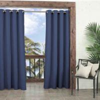 Parasol Key Largo 108-Inch Grommet Top Window Curtain Panel in Indigo