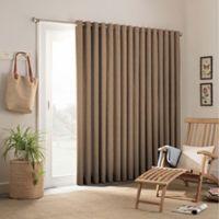 Parasol Key Largo 84-Inch Grommet Top Indoor/Outdoor Patio Door Panel in Caramel