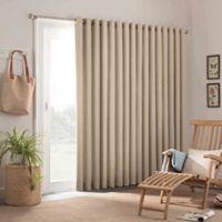 Parasol Key Largo 84-Inch Grommet Top Indoor/Outdoor Patio Door Panel in Oatmeal