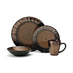Gourmet Basics by Mikasa® Verona 16-Piece Dinnerware Set in Brown