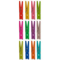 Wallies 22-pack Hang it Up Clothespins