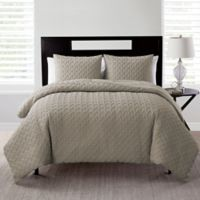 VCNY Nina Twin XL Comforter Set in Taupe
