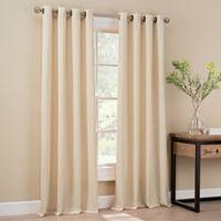 Orion 108-Inch Grommet Top Window Curtain Panel in Cream