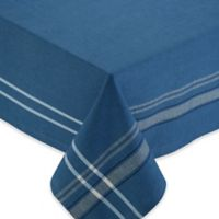 Chambray 60-Inch x 104-Inch Oblong Tablecloth in Blue