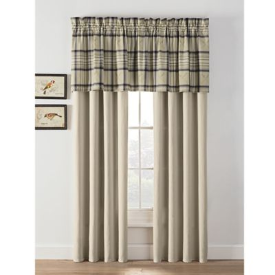 Buy Plaid Curtains Panel from Bed Bath & Beyond