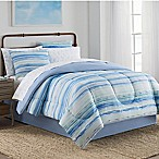 Blue Hill Watercolor 8-Piece King Comforter Set in Blue/Green