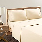 Sleep Philosophy® Snug Grip 300-Thread-Count King Sheet Set in Ivory