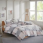 Jan 5-Piece Reversible Flannel Full/Queen Comforter Set in Blush