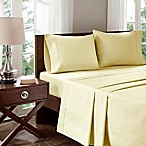 Madison Park 400-Thread-Count Aloe Vera Cotton Queen Sheet Set in Ivory