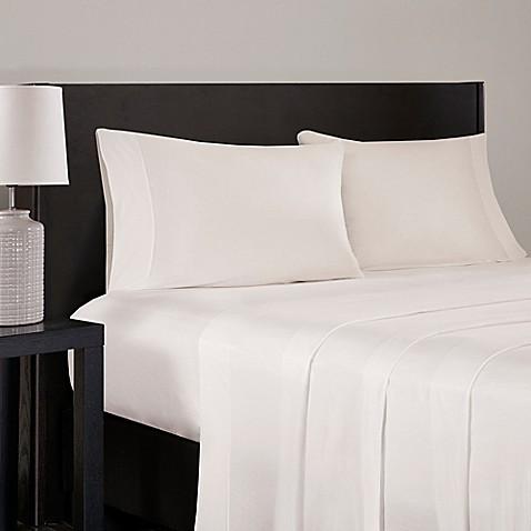 buy sleep philosophy modal jersey king sheet set in ivory from bed bath beyond. Black Bedroom Furniture Sets. Home Design Ideas