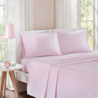 Mi Zone Gingham Twin Sheet Set in Pink