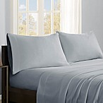 True North by Sleep Philosophy Premier Comfort Microfleece Queen Sheet Set in Grey