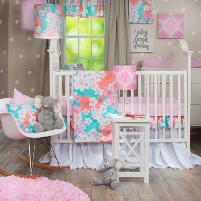 glenna jean stella 3piece crib bedding set