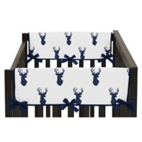 Sweet Jojo Designs Woodland Deer Side Crib Rail Guards (Set of 2)