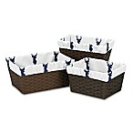 Sweet Jojo Designs Woodland Deer Basket Liners