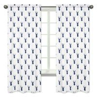 Sweet Jojo Designs Woodland Deer 84-Inch Window Panels (Set of 2)