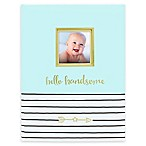 Pearhead Hello Baby Book in Blue