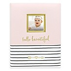Pearhead Hello Baby Book in Pink