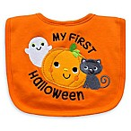Neat Solutions  My 1st Halloween  Bib in Orange