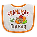 Neat Solutions  Grandma's Lil' Turkey  Bib in White